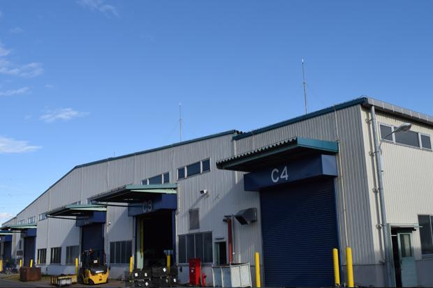 炭素鋼工場